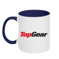 Кружка двухцветная Top Gear - FatLine