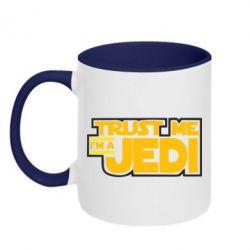 Кружка двухцветная Trust me, I'm a Jedi - FatLine