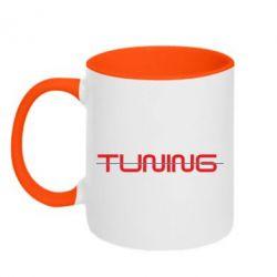 Кружка двухцветная TUNING - FatLine