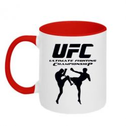 Кружка двухцветная Ultimate Fighting Championship - FatLine
