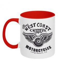 Кружка двухцветная West Coast Choppers - FatLine