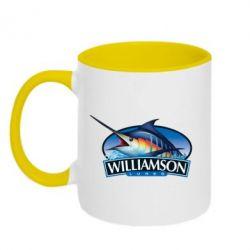 Кружка двухцветная Williamson - FatLine