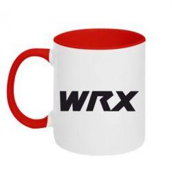 Кружка двухцветная WRX - FatLine