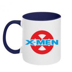 Кружка двухцветная X-men - FatLine
