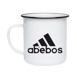 Кружка емальована ab'ebos