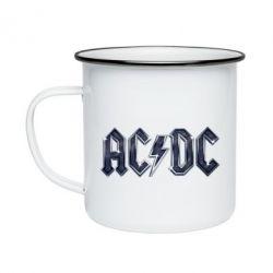 Кружка эмалированная AC/DC Logo