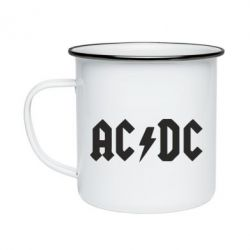 Кружка эмалированная AC DC