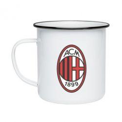 Кружка емальована AC Milan