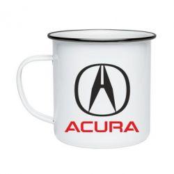 Кружка емальована Acura