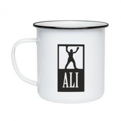 Кружка емальована Ali