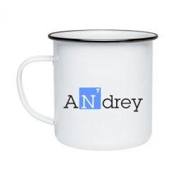 Кружка эмалированная Andrey