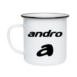 Кружка емальована Andro