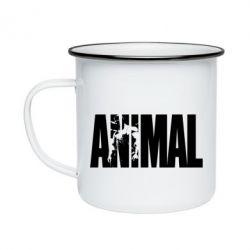 Кружка емальована Animal Powerlifting