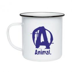 Кружка эмалированная Animal