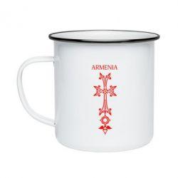 Кружка эмалированная Armenia