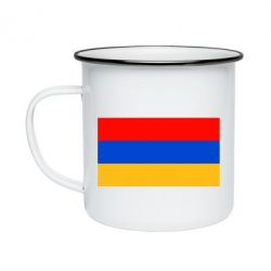Кружка емальована Вірменія