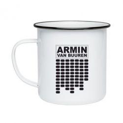 Кружка эмалированная Armin Van Buuren Trance