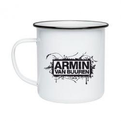 Кружка эмалированная Armin Van Buuren