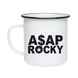 Кружка емальована ASAP ROCKY