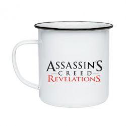 Кружка емальована Assassin's Creed Revelations