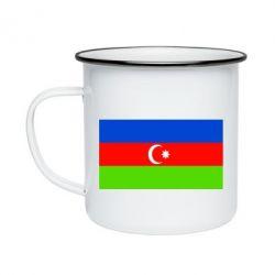 Кружка эмалированная Азербайджан