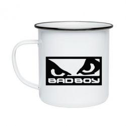 Кружка эмалированная Bad Boy - FatLine