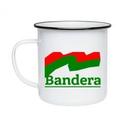 Кружка эмалированная Bandera - FatLine