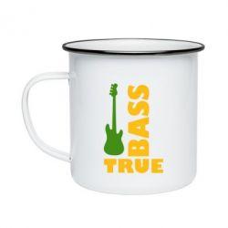 Кружка эмалированная Bass True