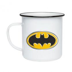 Кружка эмалированная Batman Gold Logo