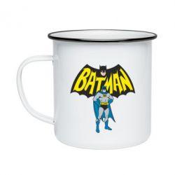 Кружка эмалированная Batman Hero
