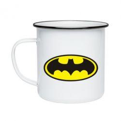 Кружка эмалированная Batman