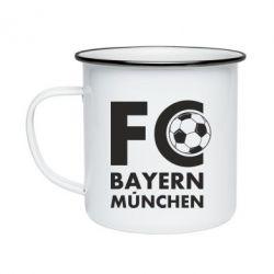 Кружка емальована Баварія Мюнхен