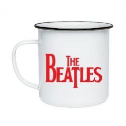 Кружка эмалированная Beatles - FatLine