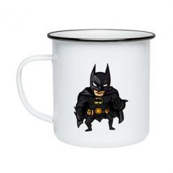 Кружка емальована Бетмен Арт