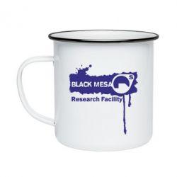 Кружка эмалированная Black Mesa