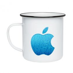 Кружка эмалированная Blue Apple