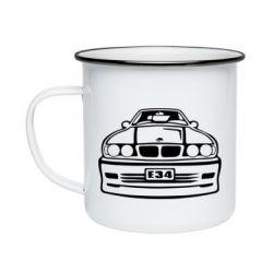 Кружка эмалированная BMW E34