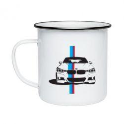 Кружка эмалированная BMW F30 - FatLine