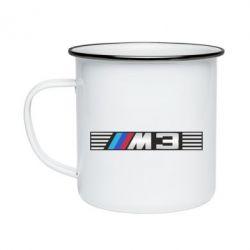Кружка эмалированная BMW M3