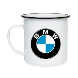 Кружка эмалированная BMW Small