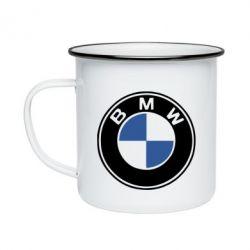 Кружка эмалированная BMW - FatLine