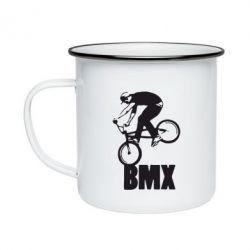Кружка емальована Bmx Boy