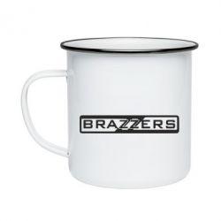 Кружка эмалированная Brazzers Logo
