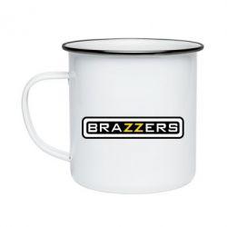 Кружка емальована Brazzers