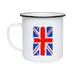 Кружка эмалированная Британский флаг