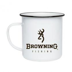 Кружка эмалированная Browning - FatLine
