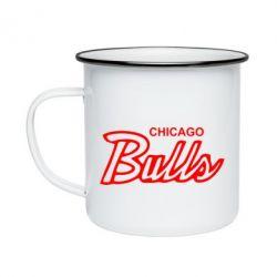 Кружка емальована Bulls from Chicago