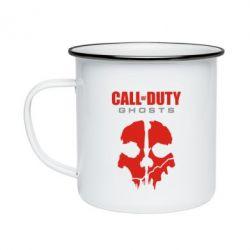 Кружка емальована Call of Duty Ghosts