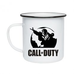 Кружка эмалированная Call of Duty Logo