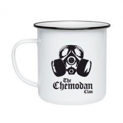 Кружка емальована Chemodan